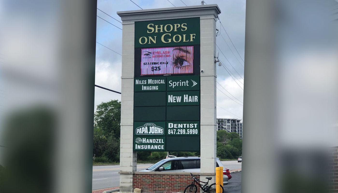 Shops on Golf